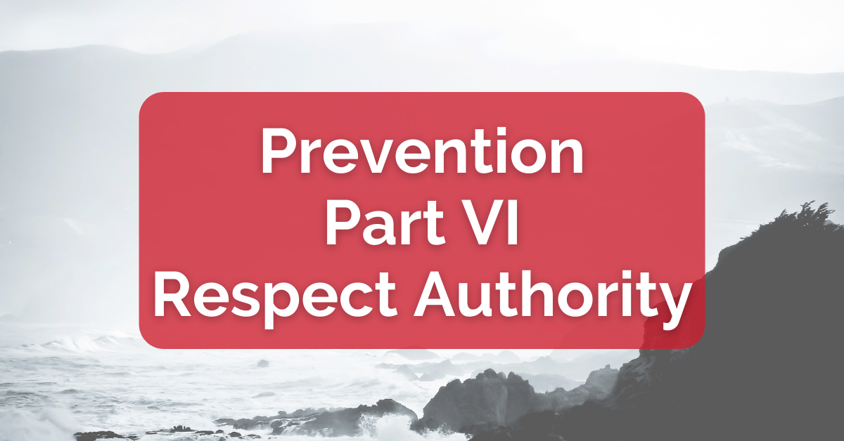 Prevention Part VI